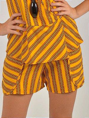 Short Wool Amarração