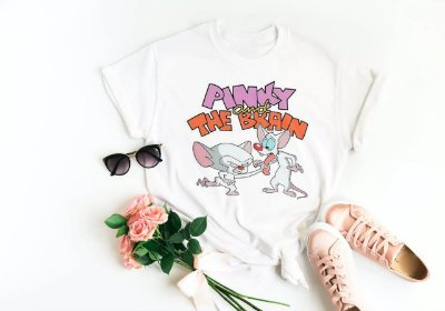 Tshirt Pinky e Cérebro