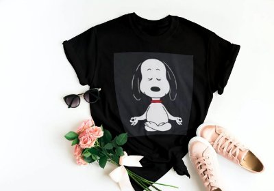 Tshirt Snoopy Relax