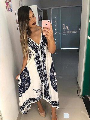 Vestido Indiano Branco