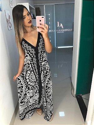 Vestido Indiano Preto