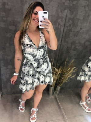 Vestido Transpassado Night Off