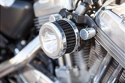 Filtro de ar  modelo Heavy Flux para toda linha Harley Davidson.