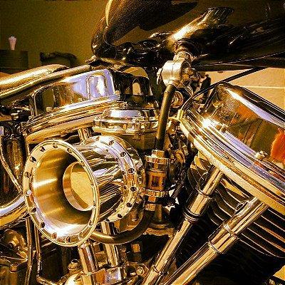 Filtro de ar  modelo INTAKE II para toda linha Harley Davidson.
