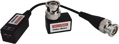 VIDEO BALUN PASSIVO - PAR TRANCADO - KIT 2 PCS - 180G+90G - Importado
