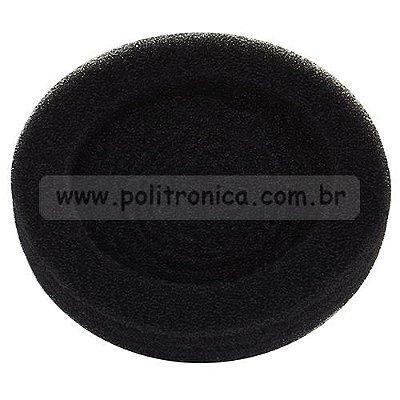 Espuma (Protetor) para Fone de Ouvido - Grande - Preta - Lika