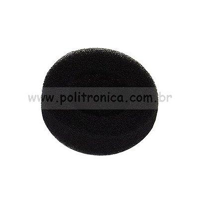Espuma (Protetor) para Fone de Ouvido - Pequena - Preta - Lika