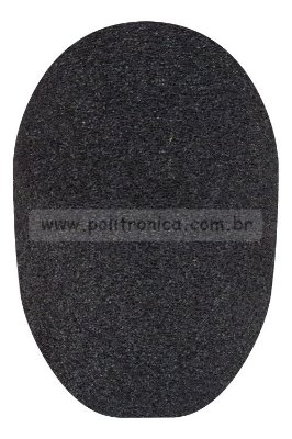 Espuma (Protetor) para Microfone de Estúdio - PL11 - Preta - Lika