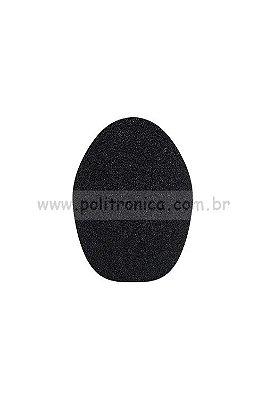 Espuma (Protetor) para Microfone SM-68 - PL5 - Preta - Lika
