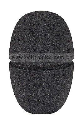 Espuma (Protetor) para Microfone Sennheiser - PL8 - Preta - Lika
