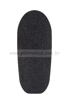 Espuma (Protetor) para Microfone de Filmadora - PL9 - Preta - Lika