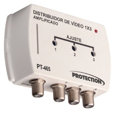 Amplificador Distribuidor de Vídeo 1x3 - PT-465 - Protection
