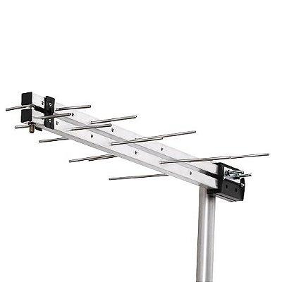 Antena Externa LOG PERIÓDICA - UHF/HDTV DIGITAL - LU-08M - Aquário
