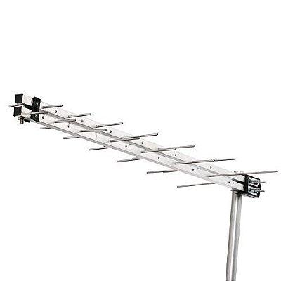 Antena Externa LOG PERIÓDICA - UHF/HDTV DIGITAL - LU-14 - Aquário