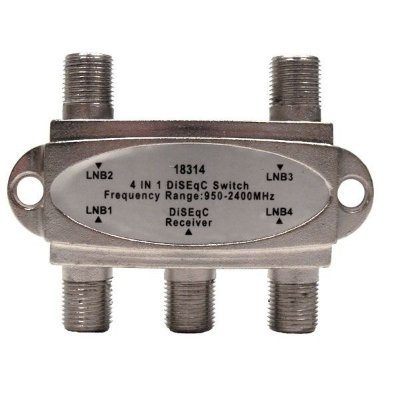 Chave Diseqc Comutadora 4X1 - 2.0 - Importado