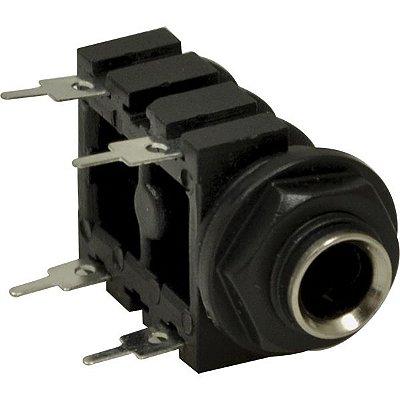 Jack P10 Mono - PCI/Painel Capa Preta - Circuito Fechado - 4T - Importado