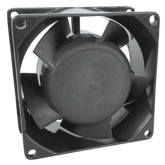 Ventilador 80X80X25MM 12VDC Nylon - 2 Fios - Bucha - Importado