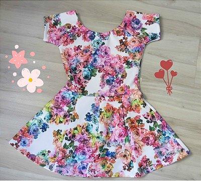 Vestido florido Gode
