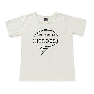 "Camiseta ""We Can be Heroes"""