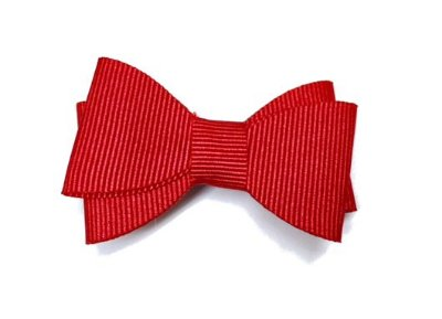 Clips Minnie Vermelho em Gorgurão