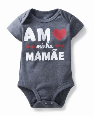 Body Amo minha mamãe