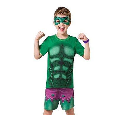 Pijama Herói Verde