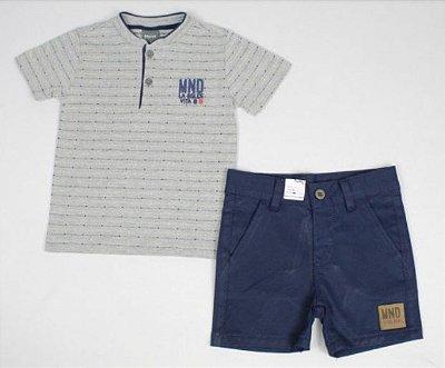 Conjunto Camiseta e Bermuda Mundi