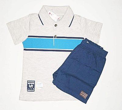 Conjunto Camiseta Polo e Bermuda Brandili