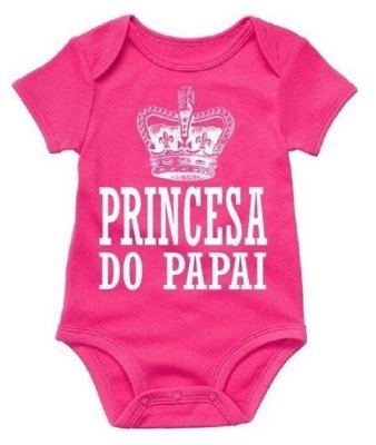Body Princesa do Papai