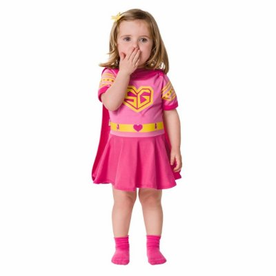 Body vestido Super Baby