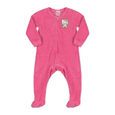 Macacão em Plush | Hello Kitty - Pink