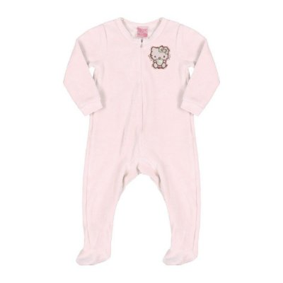 Macacão em Plush | Hello Kitty - Rosa