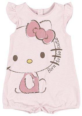 Romper | Banho de Sol Rosa - Hello Kitty