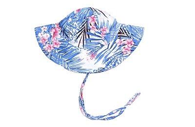 Chapéu com FPU50+ | Ecobabies - Floral