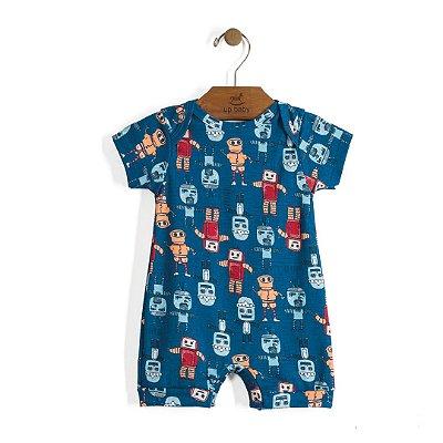 Macaquinho | Up Baby - Robot blue