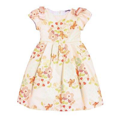 Vestido Rodado | Té -  Bouquet de Flores