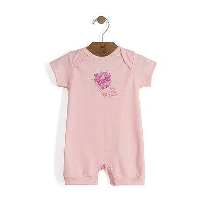 Macaquinho | Up Baby - Balão rosa