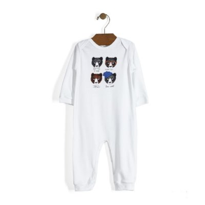 Macacão | Up Baby - Bears Face