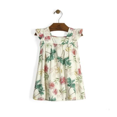 Vestido | Up Baby - Aquarela Off White