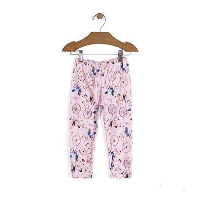 Calça Vira-Pezinho | Up Baby - Filtro dos Sonhos Rosa
