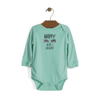 Body Manga Longa | Up Baby - Happy