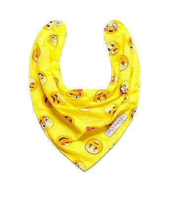 Bababor Bandana - Emoticon Amarelo