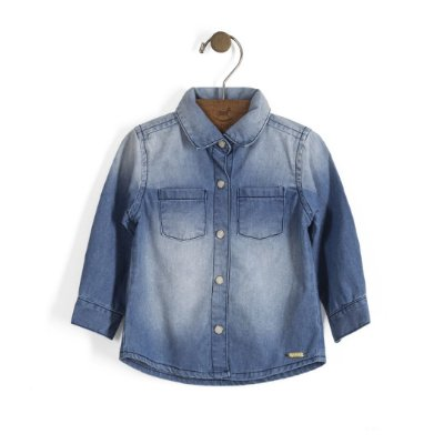 Camisa Jeans | Up Baby - Paty