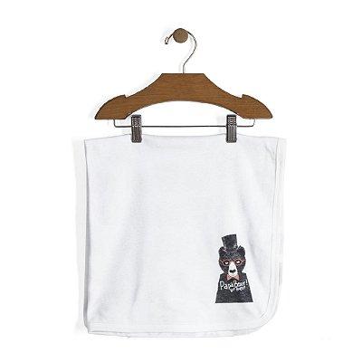 Manta dupla em suedine 100% algodão - Papa Bear