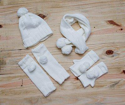 Kit Inverno - POMPOM OFF WHITE