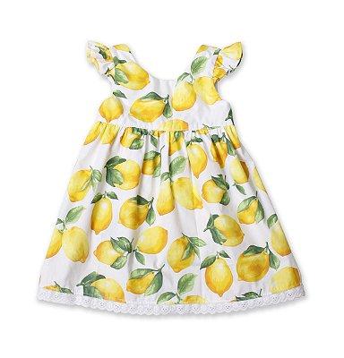 Vestido retrô - Limão Siciliano