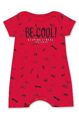 Macaquinho - Be Cool! Vermelho