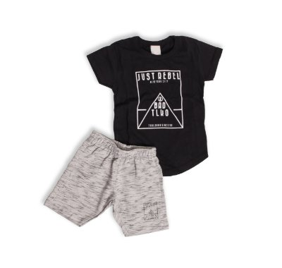 Conjunto t-shirt + bermuda - Just Rebel