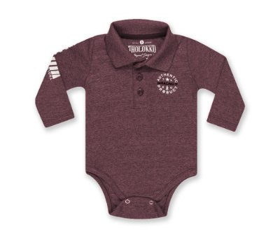 Body gola polo - Bordo
