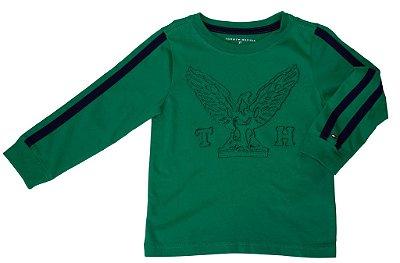 Camiseta Manga Longa | Tommy - Bordado